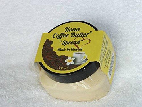 コナコーヒーバター ハワイ限定! Kona Coffee Butter 5oz (142g) 3個セット [並行輸入品]