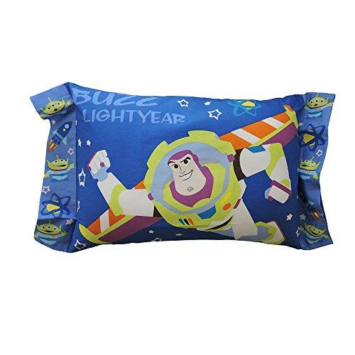 ディズニー トイストーリー バズ 子供用 枕 綿100%、中材ポリエステル100% 28×39cm モリシタ