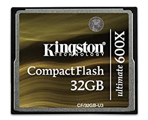 Kingston CompactFlashカード ultimate 600X 32GB CF32GB-U3