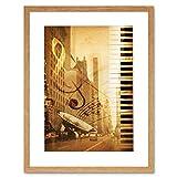 Best サックスフォトフレーム - Music Photo Mock Up Broadway New York Jazz Review