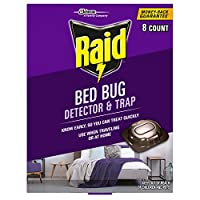 Raid Bed Bug Detector and Trap, 8.0 Count by Raid
