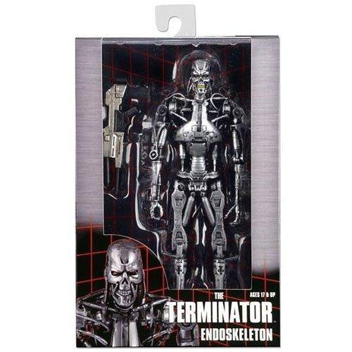 『ターミネーター』 7インチ アクションフィギュア T-800 エンドスケルトン