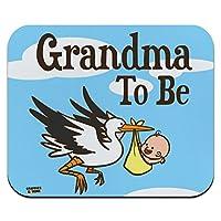 おばあちゃん、ストックベビー祖母になる薄型薄型マウスパッドマウスパッド