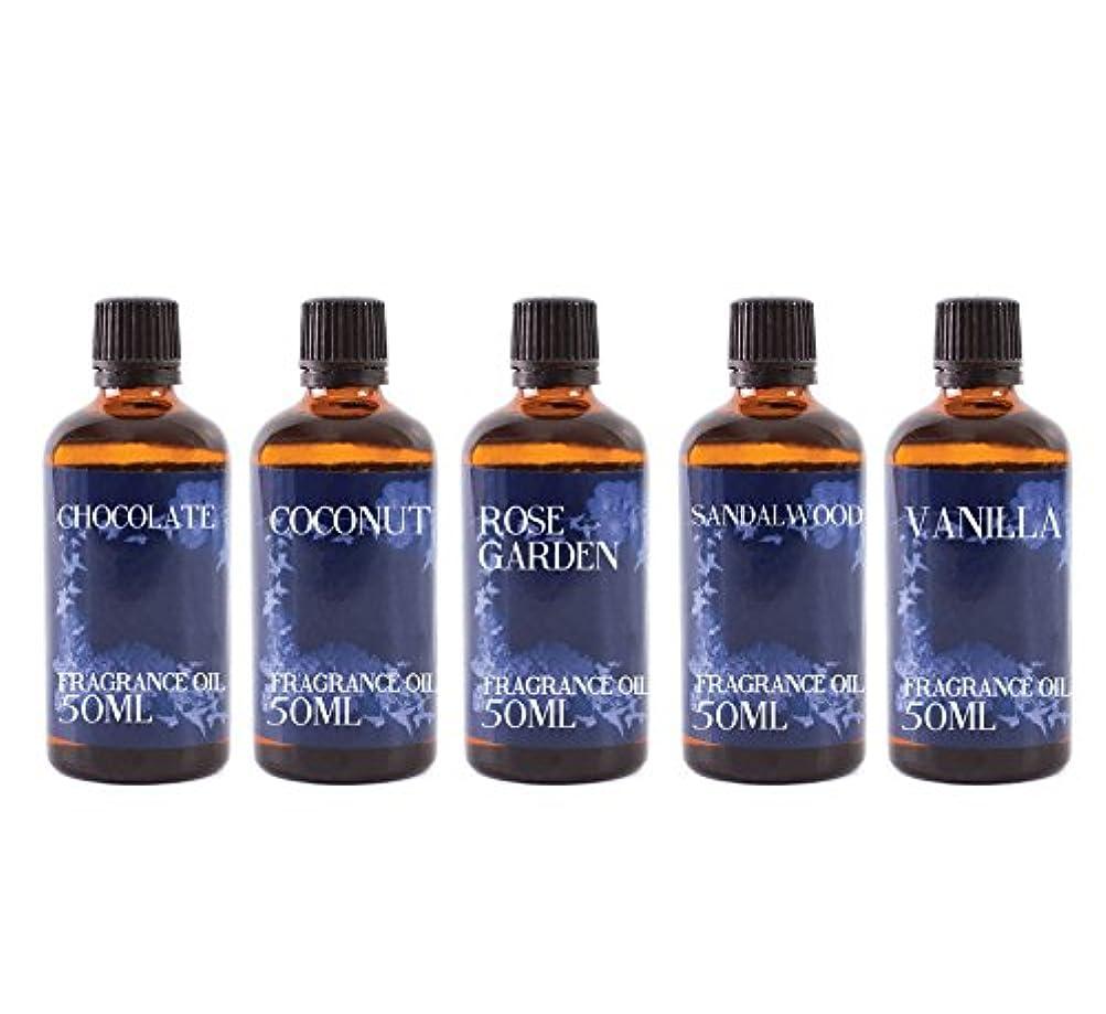 ニュージーランド天才容疑者Mystic Moments   Gift Starter Pack of 5 x 50ml Favourite Fragrant Oil