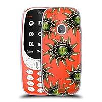 Head Case Designs クロコダイル シニスター・アイズ ソフトジェルケース Nokia 3310 (2017)