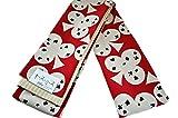おしゃれ半巾帯 リバーシブルタイプ キスミス ブランド 着物から浴衣まで幅広く締められる帯 日本製