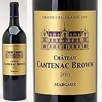 [2011] シャトー・カントナック・ブラウン 750ml (マルゴー第3級) 赤ワイン((ADCW0111))