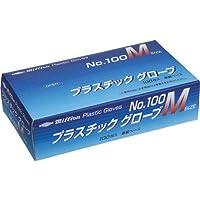 共和 ミリオン プラスチック手袋 粉付 No.100 M
