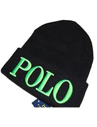 Polo Ralphlauren ポロ ラルフローレン メンズ ニットキャップ 「POLO」 ロゴ ワッチキャップ