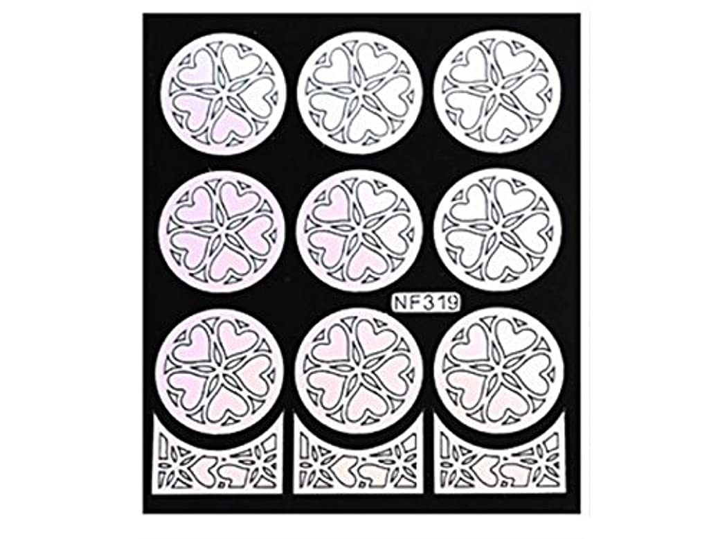 寂しい先住民に負けるOsize 女性のネイルステッカーネイルアートプレートをスタンピングネイルポリッシュマニキュア印刷テンプレートDIYの装飾(シルバー)