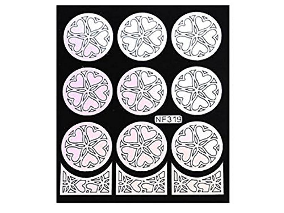 パケット連結する朝の体操をするOsize 女性のネイルステッカーネイルアートプレートをスタンピングネイルポリッシュマニキュア印刷テンプレートDIYの装飾(シルバー)