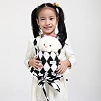 Baby Doll Carrier Mei Tai Sling Toy For Kids Children Toddler Front Back,Mini Carrier Birthday Christmas Gift, (Rhombuses) … B076J3C1KB