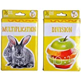 Multiplication & Division Flashcards - Math for 3rd Grade 4th Grade - Learning Practise Flash Card Bundle