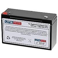 6V 10Ah鉛酸(SLA)交換用バッテリーLeoch djw6–10、DJW 6–10