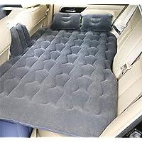 SUVエアベッド、Natoodエアマットレスダブルベッド快適な後部座席クッション、モーターポンプと2つの枕、家庭用、車、屋外キャンプユニバーサル、86 * 135センチメートル,Black