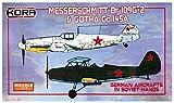 コラモデルス 1/72 メッサーシュミット Bf109G-2 & ゴータ Go145A ソ連軍鹵獲機 プラモデル KORPK72098