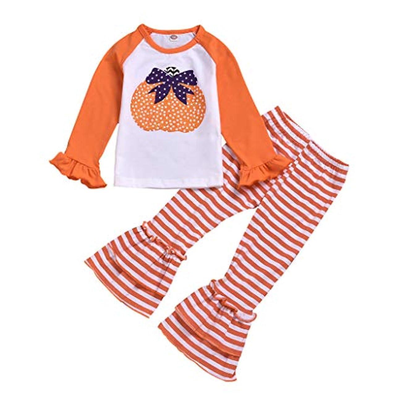 セーブバレーボールセーブリラックス シンプル キッズ ベビー 赤ちゃん 男女の子兼用 ボーイズ ガール 長袖 ハロウィン かぼちゃ 男の子 女の子 軽い かっこいい スタイル パンツ フワフワ もこもこ リラックス シンプル キッズ ベビー 赤ちゃん 男女の子兼用 (オレンジ, 80(6-12ヶ月))