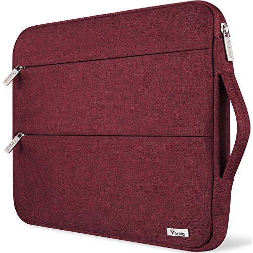 Voova 13-13.5インチ パソコンバッグ 衝撃吸収 ラップトップ スリーブ 防水 ノートパソコン カバーケース 持ち歩き 通勤 PC収納インナーケース ビジネス 手提げカバン MacBook Air Pro 13.3