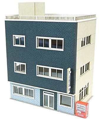 さんけい なつかしのジオラマシリーズ 1/150 ビルE ペーパークラフト MP03-108