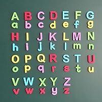 wotoy磁気大文字小文字AaBbCcマグネット子ギフトセットLetterマグネット–教育冷蔵庫マグネット- 52pieces