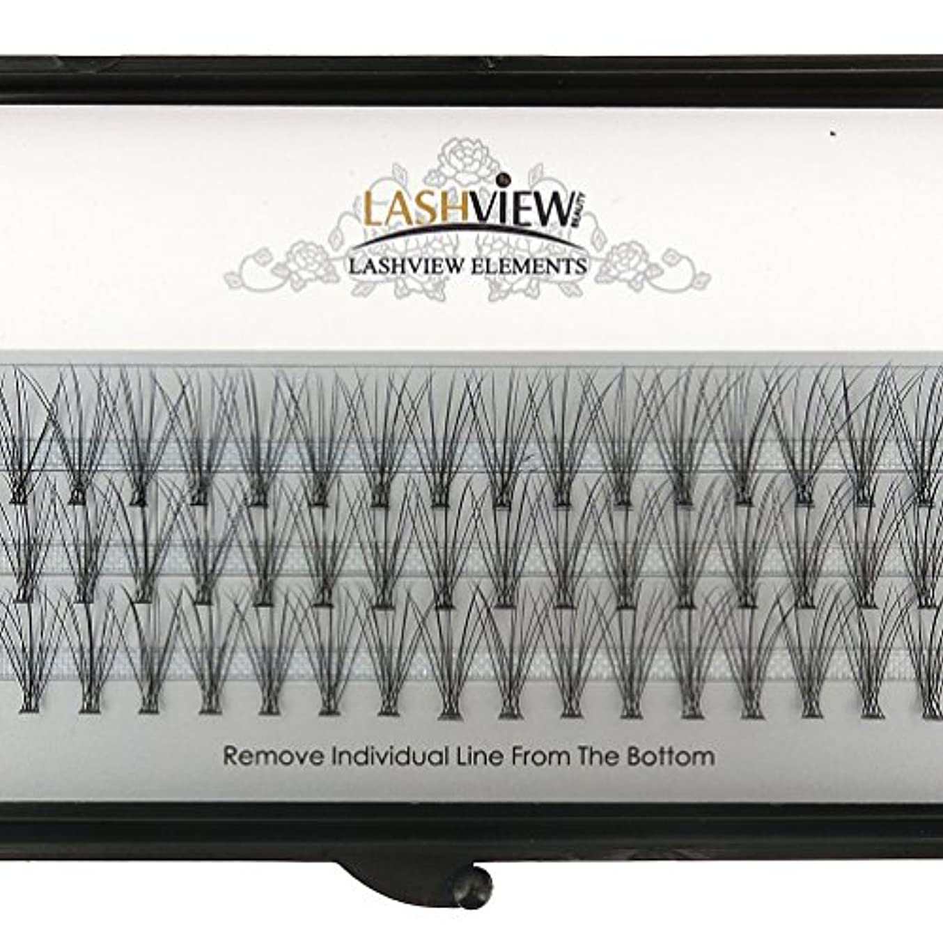 夕方レプリカ説明的LASHVIEW 高品質まつげエクステフレア セルフ用 超極細素材 太さ0.07mm 12mm Cカール マツエク10本束
