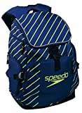 Speedo(スピード) スイマーズリュック(中) ネイビーブルー×イエロー SD95B24