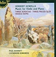 Howells: Violin Sonatas 1-3 by Paul Barritt (2004-02-10)