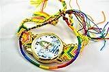 【ITN Supplies】 TVで話題 オシャレ ミサンガ ウォッチ 腕時計 アクセサリー ブレスレット フリーサイズ 特製ブレスレット付セット 8