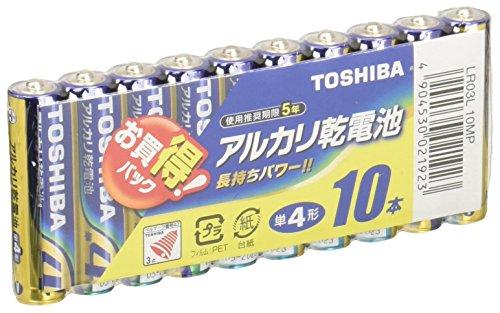 アルカリ乾電池 単4 10個