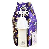 ペット骨壷 アニマル柄 3寸 パープルネイビー 覆い袋のみ 3寸 3.3寸 対応サイズ 仏具 手元供養