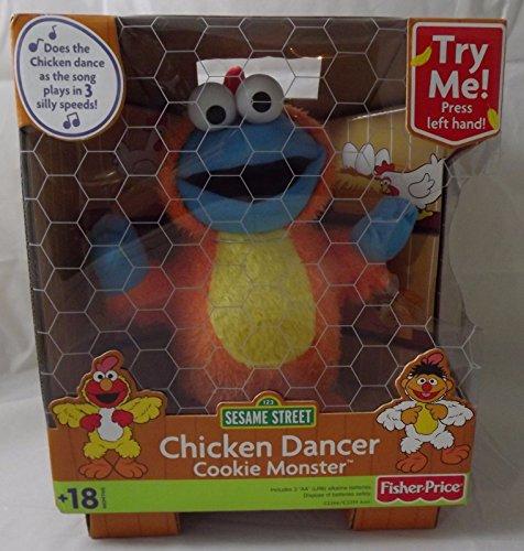 세서미 스트리트 쿠키 몬스터 치킨 댄서 장난감 NEW SEALED RARE Fisher Price Sesame Street Cookie Monster Chicken Dancer 2003 [병행수입품]-q1