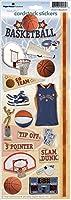 紙の家厚紙ステッカー バスケット ボール 2