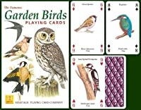 Garden Birds Playing Cards by Heritage Playing Cards