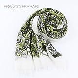 グリーン(C60) F FRANCO FERRARI フランコフェラーリ 大判ストール 116SS 26123(グリーン)