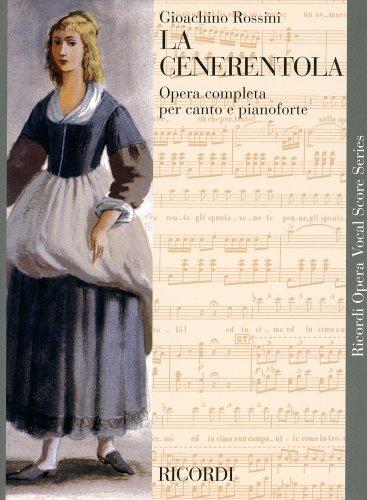 ロッシーニ : オペラ「シンデレラ」/リコルディ社/ピアノ・ヴォーカル・スコア
