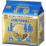 マルちゃん正麺 旨塩味 5食×6個の商品画像