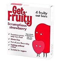 フルーティーおいしいイチゴバー4×35グラムを取得 (x 2) - Get Fruity Scrumptious Strawberry Bar 4 x 35g (Pack of 2) [並行輸入品]