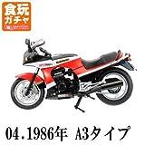 1/24スケール ヴィンテージ バイク キット Vol.1 KAWASAKI GPZ900R [4.GPZ900R ニンジャ 1986年 A3タイプ](単品)