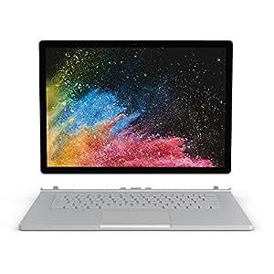 マイクロソフト Surface Book 2 [サーフェス ブック 2 ノートパソコン] Office Home and Business 2016 搭載 15 インチ PixelSense™ ディスプレイ Core i7/16GB/1TB GPU搭載 - FVH-00010