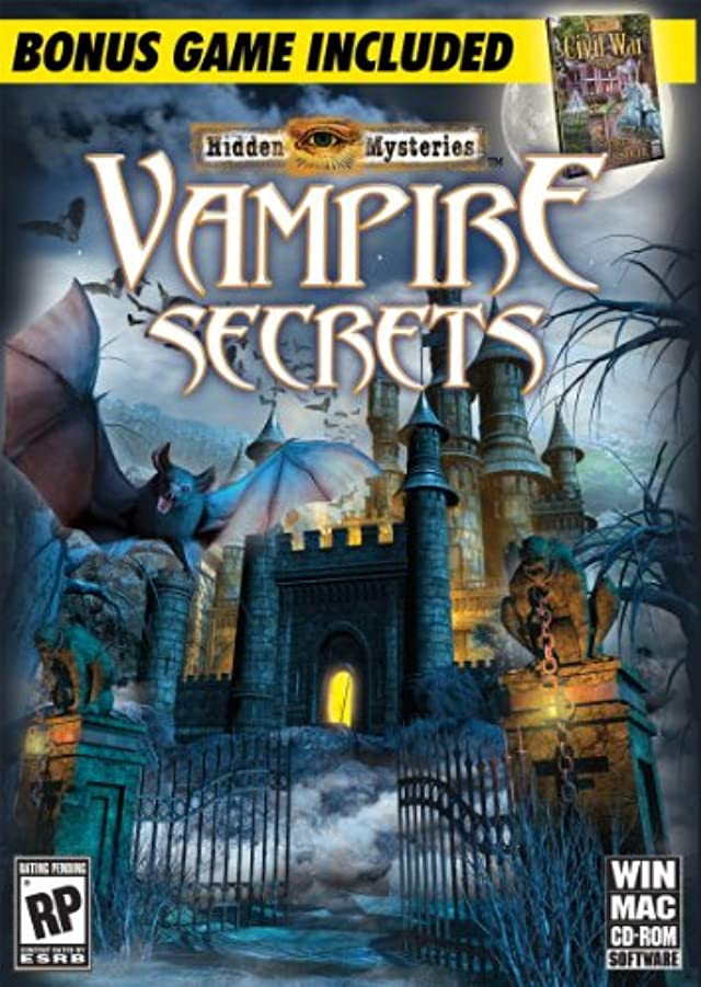 請うソブリケット浅いHidden Mysteries: Vampire Secrets (輸入版)