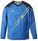 (ミズノ)MIZUNO バレーボールウエア ムーヴブレーカーシャツ (長袖) [ユニセックス] V2ME6512 26 スカイダイバー×セーフティイエロー M