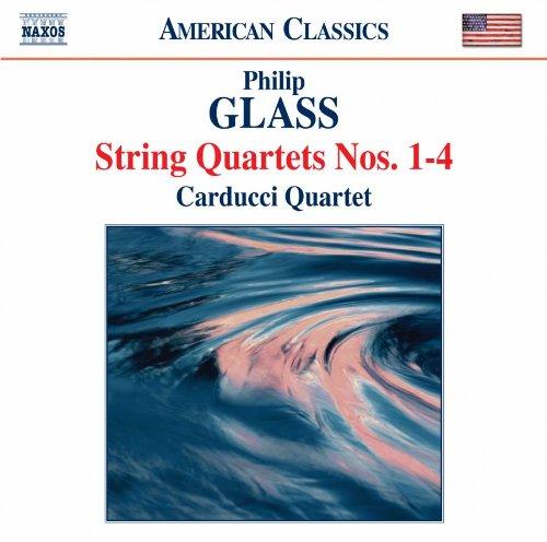 グラス:弦楽四重奏曲 第1番-第4番