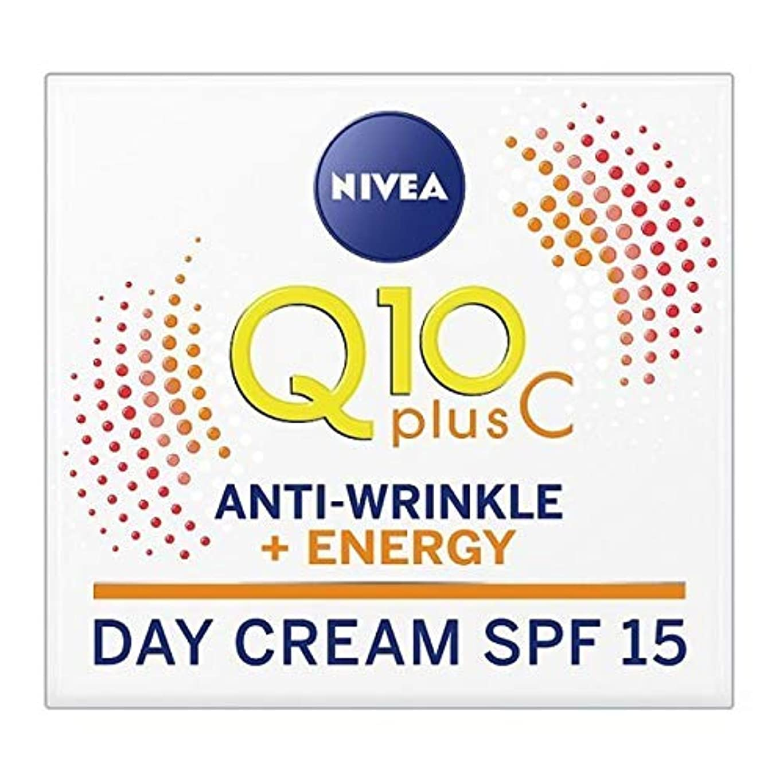 ふつうコピー開示する[Nivea ] ニベアのQ10、ビタミンC抗シワエネルギーフェイスクリームSpf 15 - NIVEA Q10 Vitamin C Anti-Wrinkle Energy Face Cream SPF 15 [並行輸入品]