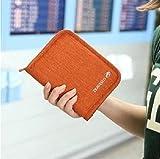 Travel Mart パスポート ケース 旅行 スキミング防止 トラベル 財布 ( オレンジ )
