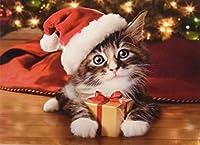 Ceaco Avantiクリスマスパズル–Precious Kittyパズル