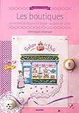 MANGO <Les boutiques> クロスステッチ図案集-フランス語