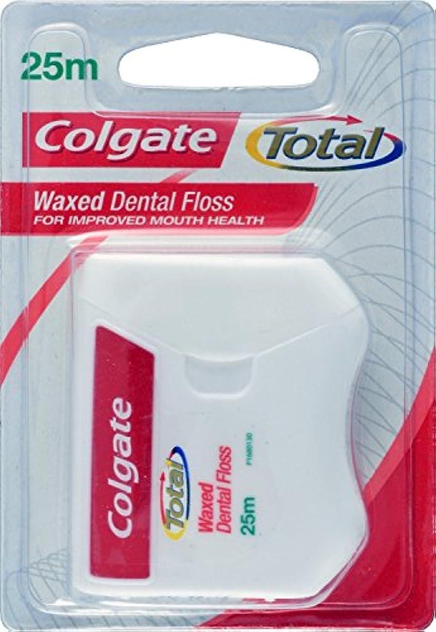 ライバルフットボール多様体Colgate Total Dental Floss (Pack Of 10) by Colgate Palmolive [並行輸入品]