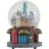 [Harrods] ハロッズ ミュージカル スノードーム オルゴール付き(Skyline Musical Snow Globe) [並行輸入品]
