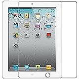 Lakko Apple iPad 2 ipad 3 ipad 4 強化ガラスフィルム 9.7インチ 9H 飛散防止 高透過率 撥油性 耐指紋 硝子 アップル アイパッド 第2世代 / 第3世代 / 第4世代 液晶保護フィルム 日本板硝子社国産ガラス採用
