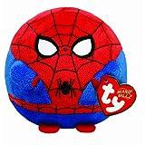 TYビーニーボールズ スパイダーマン ぬいぐるみ、約13㎝ Ty UK 5-inch Spiderman Beanie Ballz